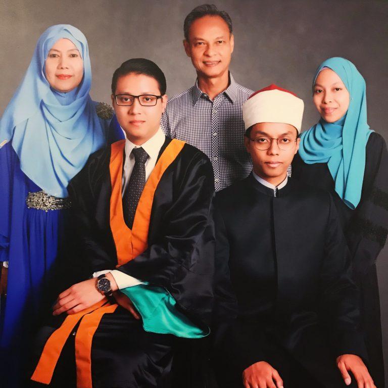Family of Fadhil Azman